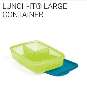 Brand new Tupperware Lunch it containers